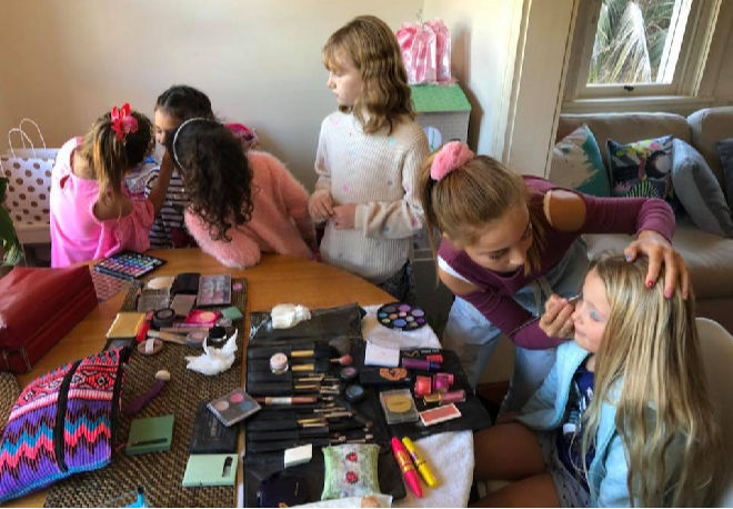 kids pamper parties sydney